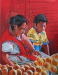 Obras de arte: America : México : Baja_California_Sur : lapaz : Delicia anaranjada