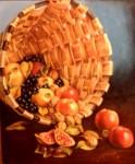 Obras de arte: Europa : España : Castilla_La_Mancha_Albacete : Albacete : Cesta con frutas