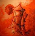 Obras de arte:  :  :  :  : cigueñas y torre