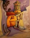 Obras de arte:  : España : Aragón_Zaragoza :  : calles y torre