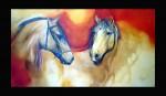 Obras de arte: America : Chile : Region_Metropolitana-Santiago : Las_Condes : caballos 43