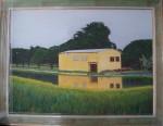 Obras de arte:  : España : Galicia_Pontevedra : vigo : A02 La casa amarilla (2007)
