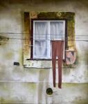 Obras de arte:  : Espa�a : Madrid : Boadilla_del_Monte : Ropa tendida