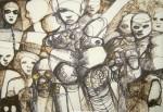 Obras de arte: America : Venezuela : Bolivar-Venezuela : Ciudad_Guayana_ : COMPARSA