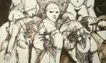 Obras de arte: America : Venezuela : Bolivar-Venezuela : Ciudad_Guayana_ : EL COMPONEDOR DE NINFAS