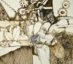Obras de arte: America : Venezuela : Bolivar-Venezuela : Ciudad_Guayana_ : MAQUINA PARA MOLER OPOSICIONES
