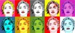 Obras de arte: America : Argentina : Buenos_Aires : cIUDAD_aUTíNOMA_DE_bS_aS : MADONNA POP ART COLLAGE