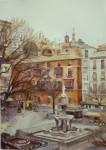 Obras de arte: Europa : España : Andalucía_Granada : Cenes_de_la_Vega : Plaza Bibrrambla, Granada
