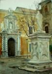 Obras de arte: Europa : España : Andalucía_Granada : Cenes_de_la_Vega : Plaza Facultad Derecho, Granada