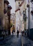 Obras de arte: Europa : España : Andalucía_Granada : Cenes_de_la_Vega : Calle de Granada