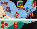 Obras de arte: Europa : Italia : Sardegna : sassari : No te quedes en el umbral (más allá florece la vida)