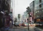 Obras de arte: Europa : España : Andalucía_Granada : Cenes_de_la_Vega : Atardecer urbano
