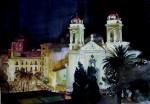Obras de arte: Europa : España : Andalucía_Granada : Cenes_de_la_Vega : Noche en el sur