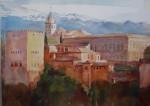 Obras de arte: Europa : España : Andalucía_Granada : Cenes_de_la_Vega : Alhambra (fragmento)