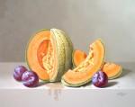 Obras de arte: America : M�xico : Mexico_Distrito-Federal : villa_obregon : melones