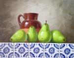 Obras de arte: America : M�xico : Mexico_Distrito-Federal : villa_obregon : peras