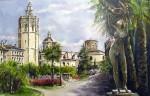 Obras de arte: Europa : España : Valencia : moncada : Plaza la Reina-Valencia