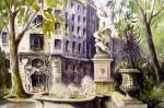 Obras de arte: Europa : España : Valencia : moncada : Fuente Tritón-Glorieta-Valencia