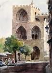 Obras de arte: Europa : España : Valencia : moncada : Torres de Serranos-Valencia