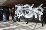 Obras de arte: Europa : España : Catalunya_Barcelona : Sitges : Pinturas de gran formato de Josep Puigmarti en el Centro de Convenciones Internacional de Barcelona