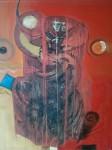 Obras de arte:  : Perú : La_Libertad-Peru : Trujillo,_trujillo : LAS DOS LUNAS LLENAS