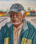 Obras de arte: America : Rep_Dominicana : Santiago : rep._imperial : ESPERANDO SUS CHELITOS