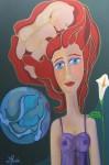 "Obras de arte: America : Argentina : Buenos_Aires : La_Plata : ""Pensamiento Maternal"""