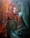 Obras de arte: America : Ecuador : Pichincha : Quito : Virgen noche de luna