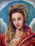 Obras de arte: Europa : Espa�a : Madrid : Las_Rozas : Virgen del Greco