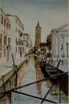 Obras de arte: Europa : España : Euskadi_Bizkaia : Bilbao : La bella Venecia