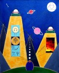 Obras de arte: America : Argentina : Buenos_Aires : Capital_Federal : Radiotransmisora interplanetaria