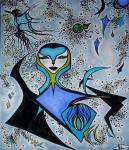 Obras de arte: Europa : Francia : Languedoc-Roussillon :  : SUEÑO AZUL