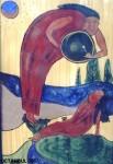 Obras de arte:  : Francia : Provence-Alpes-Cote-d_Azur :  : El shaman