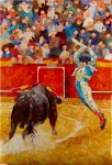 "Obras de arte: Europa : España : Andalucía_Sevilla : Sevilla-ciudad : ""BANDERILLAS 1"""