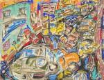 Obras de arte: Europa : España : Castilla_La_Mancha_Albacete : Albacete : Capítulo 37: Que trata de los desafortunados acontecimientos en el periférico y el sufrido intento por llegar a Polanco un día del señor 10 de mayo.
