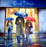 Obras de arte: America : Argentina : Buenos_Aires : ADROGUE : No ha parado de llover