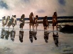 Obras de arte: America : Chile : Region_Metropolitana-Santiago : providencia : Crossing Selk nam