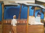 Obras de arte:  : España : Galicia_Pontevedra : vigo : B06 Comprando aceite (2008)