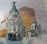 Obras de arte: Europa : España : Madrid : Serranillos_del_Valle : Obra inacabada El edificio METRÓPOLIS