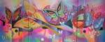 Obras de arte:  : Guatemala : Guatemala-region : Guatemala-ciudad : Mariposas