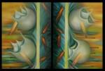 Obras de arte: America : México : Mexico_Distrito-Federal : Coyoacan : LUNAS ROTAS