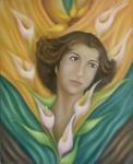 Obras de arte: America : México : Mexico_Distrito-Federal : Coyoacan : RETRATO SRA. AGUSTINA