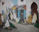 Obras de arte:  : España : Ceuta : ceuta_ciudad : Las vendedoras de hiervabuena