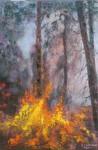 Obras de arte: Europa : España : Catalunya_Barcelona : Mataró : fuego