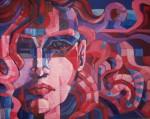 Obras de arte: America : Argentina : Buenos_Aires :  : Rostro con rojo