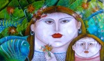 Obras de arte: America : Venezuela : Merida : pedregosa : Marina