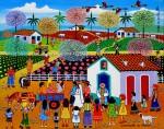 Obras de arte: America : Brasil : Pernambuco : Recife : CASAMENTO NA ROÇA