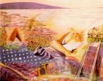 Obras de arte: Europa : España : Murcia : Lorca : TARDE DE AGOSTO
