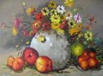Obras de arte: America : Colombia : Distrito_Capital_de-Bogota : Bogota_ciudad : BODEGON Y FLORES  2