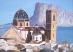 Obras de arte: Europa : España : Valencia : valencia_ciudad : Peñón d´ifach desde Altea